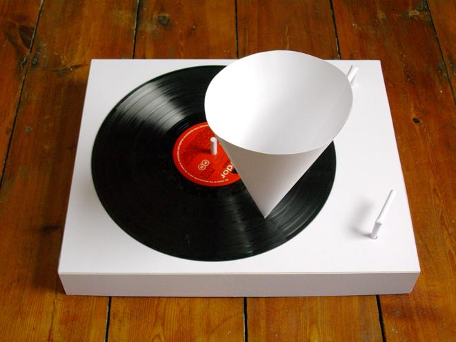 Как сделать виниловую пластинку из бумаги