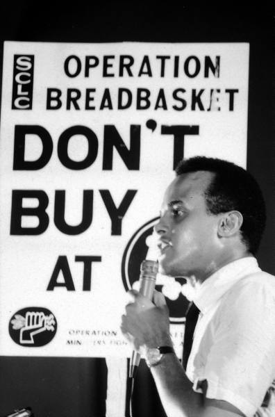 Harry Belafonte at Operation Breadbasket, Chicago 1968