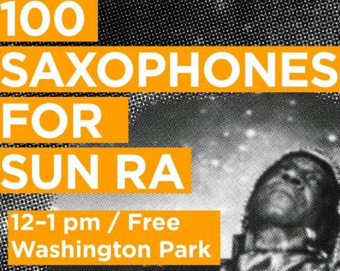 100 Saxophones for Sun Ra